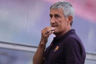 Barcelona alegará incapacidad de Quique Setién para entrenar