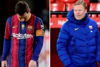"""Koeman y Barcelona rechazan sanción a Lionel Messi: """"El club no está de acuerdo"""""""