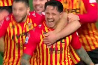 Lapadula anotó golazo y rompió racha de 12 partidos sin convertir - VIDEO