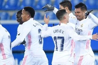 Real Madrid goleó 4-1 al Alavés con doblete de Karim Benzema - Video y goles