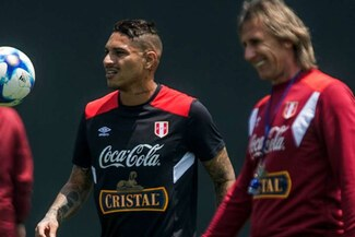 Ricardo Gareca destacó que por temperamento y carácter, Paolo Guerrero sería ideal en Boca Juniors