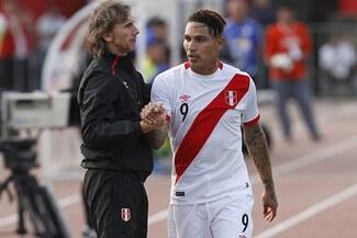 Selección peruana: Ricardo Gareca evalúa la titularidad de Paolo Guerrero