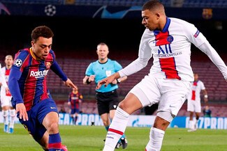 Barça perdió 3-1 ante PSG, con tres golazos de Kylian Mbappé, por Champions League