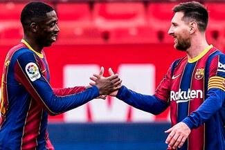 Con gol de Messi: Barcelona ganó 2-0 al Sevilla por la fecha 25 de LaLiga-RESUMEN