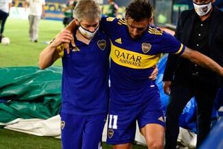Boca Juniors: ´Toto' Salvio será baja varios meses tras confirmarse gravedad de su lesión