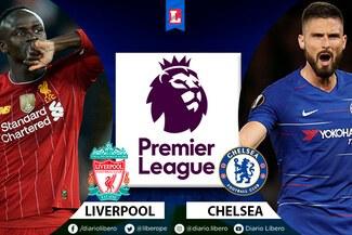 Liverpool vs Chelsea EN VIVO hora y canales dónde ver partido por la Premier League