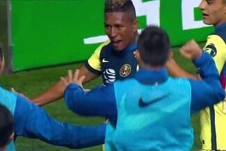 Pedro Aquino anotó golazo con el América: controló de pecho y rompió el arco en la Liga MX - VIDEO