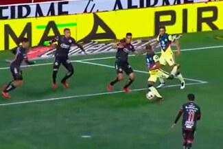 Pedro Aquino: así fue el golazo del seleccionado peruano con el América - VIDEO