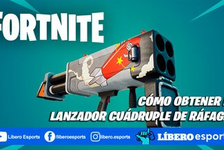 Fortnite: cómo obtener el Lanzador cuádruple de ráfaga - GUÍA