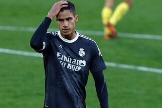 Real Madrid anunció de última hora el positivo de Raphael Varane