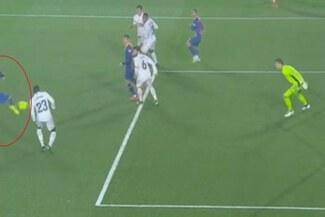 Con lo que sea: Óscar Mingueza descontó para el Barcelona ante Real Madrid - VIDEO