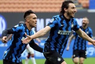 Inter registra 11 triunfos consecutivos y sueña con el título después de un década