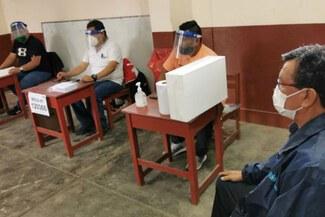 San Isidro, Miraflores, San Borja y los distritos con más electores ausentes