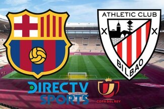 ⚪ Ver DirecTV Sports EN VIVO, Barcelona vs. Athletic de Bilbao: 1T 0-0 Final de Copa del Rey