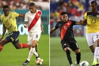 Perú chocará ante Colombia y Ecuador en junio por Eliminatorias si Conmebol modifica calendario
