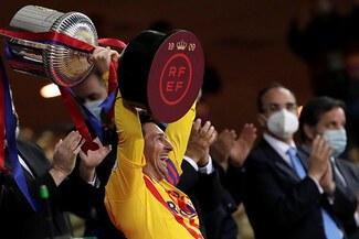 Lionel Messi y sus números tras conquistar su título 35 con el Barcelona