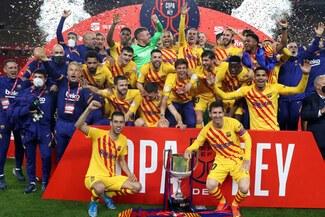 Barcelona extendió soberanía sobre Athletic Bilbao en finales de Copa del Rey