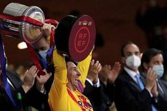 """El mensaje de Lionel Messi tras ganar la Copa del Rey: """"Nos merecíamos esta alegría"""""""
