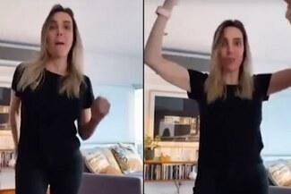 """Viral: Juliana Oxenford sorprende al bailar la canción """"Soy una taza"""" - VIDEO"""