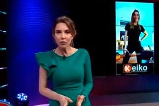 Juliana Oxenford denuncia manipulación de su video con música de Keiko Fujimori - VIDEO