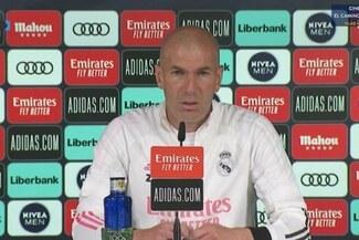 """Zinedine Zidane previo al duelo ante Osasuna: """"Vamos a meter al mejor equipo para ganar La Liga"""""""