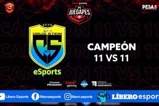 PES 2021: Carlos Stein Esports son los campeones del Claro gaming X JUEGAPES 11vs11