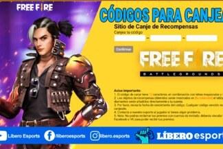 Free Fire: códigos para canjear hoy (06 de mayo) y sus recompensas