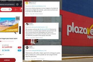 Usuarios respaldan a Plaza Vea por quejas de clientes que compraron productos a 30 soles