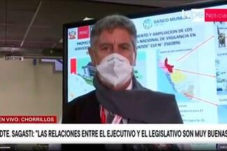 """Francisco Sagasti sobre posible vacancia: """"No parecen congresistas, parecen chantajistas"""" - VIDEO"""