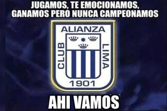 Alianza Lima venció 2-0 a Binacional, pero igual fue víctima de memes