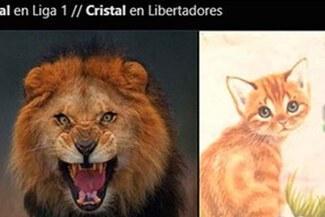 No tuvieron piedad: Cristal es víctima de memes tras derrotar a Cusco FC