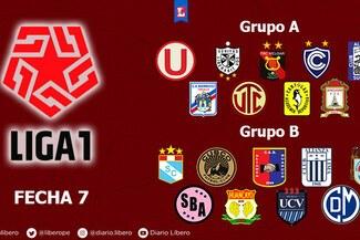 Liga 1 EN VIVO tabla de posiciones: resultados del Grupo A y Grupo B - Fecha 7