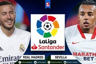 Real Madrid vs Sevilla EN VIVO ESPN: ver transmisión oficial de LaLiga Santander