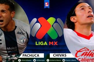 Vía Fox Sports 2, Pachuca vs Chivas EN VIVO: ¿cómo ver partido por repechaje de Liga MX?