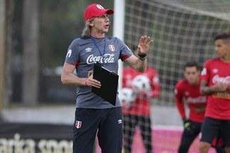 Gareca definió el once de Perú para jugar amistoso contra Escocia