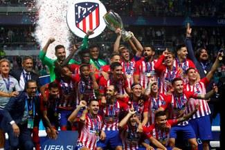 Atlético campeón de la Supercopa de Europa tras ganar 4-2 a Real Madrid