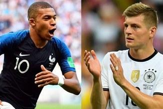 Francia enfrenta a Alemania por la UEFA Nations League