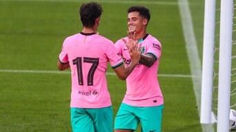 Barcelona Vs Girona Resumen 3 1 Doblete Lionel Messi Philippe Coutinho Estadisticas Amistoso Era Ronald Koeman Libero Pe