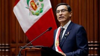 Perú: Congreso no alcanza votos suficientes para destituir al presidente Martín Vizcarra