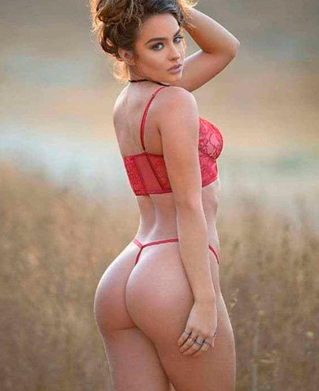 LA DIOSA DE LA MLS  Esta hermosa modelo es considerada como la chica con las caderas más sexys del mundo. Dicen que cuando va a los estadios en los Yunaites, más de uno termina con dolor de cuelo. ¡Asu!
