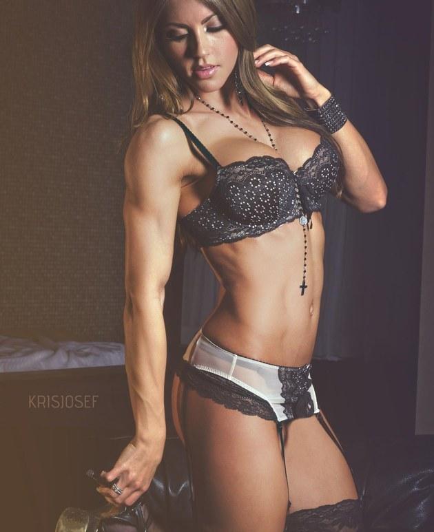 Danielle Vaughan, la modelo canadiense que causa sensación con sus fotos fitness [FOTOS]