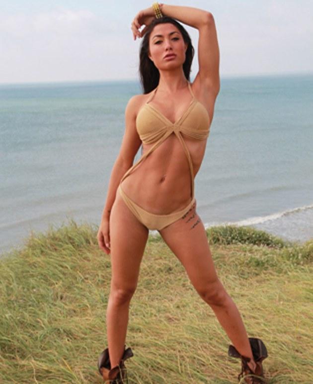Belén Lavallen, la sensual modelo argentina que alza la temperatura en Instagram [FOTO]
