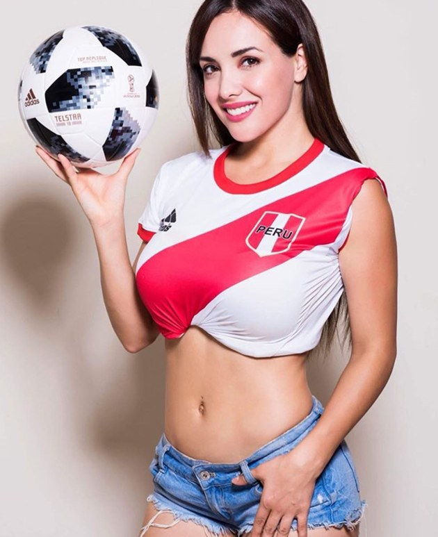 Rosangela Espinoza, la Diablita de Líbero que alentará a la selección peruana en la Copa América