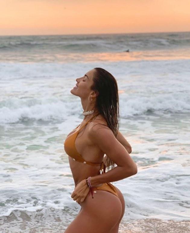 Korina Rivadeneyra, la venezolana más bella en el Perú, celebró empate e impacta a sus seguidores en Instagram [FOTOS]