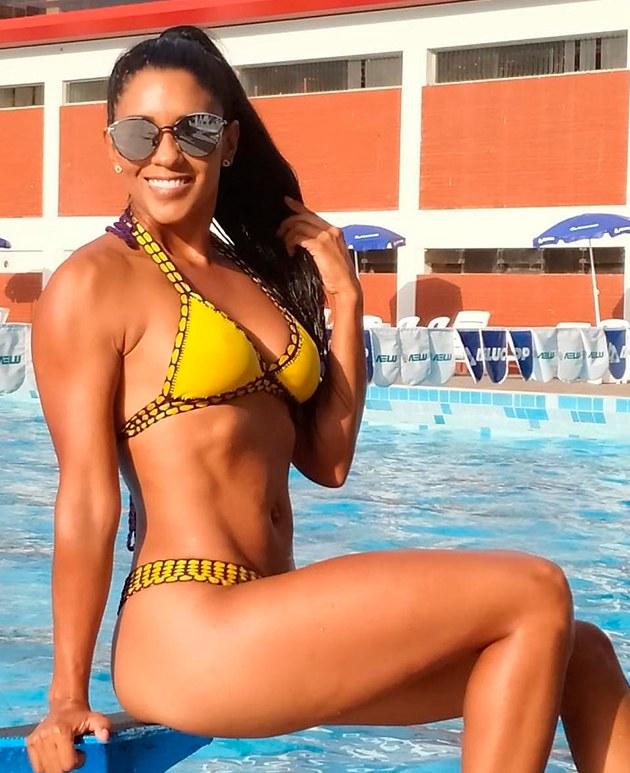 Rocío Miranda y las fotos que hicieron perder la cabeza a seleccionado