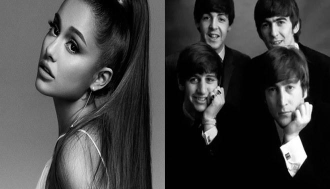 Ariana Grande igualó un récord en la lista Billboard que The Beatles tuvo por más de 50 años