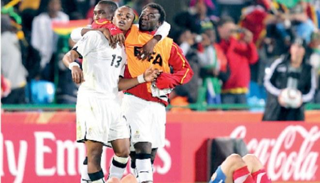 ¡...Y Ghana con suerte!