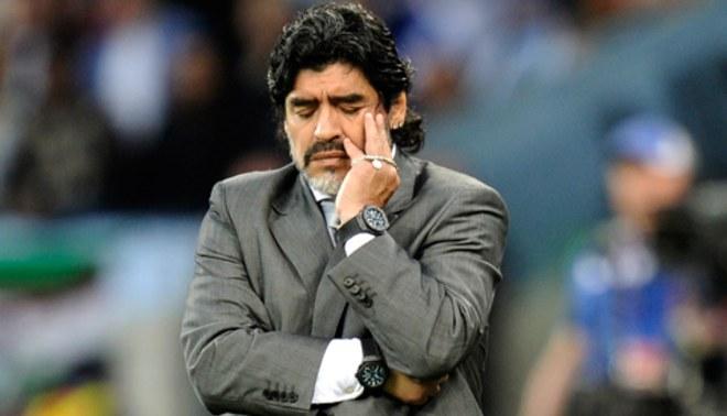 Maradona  'Me jode que no me tengan en cuenta'