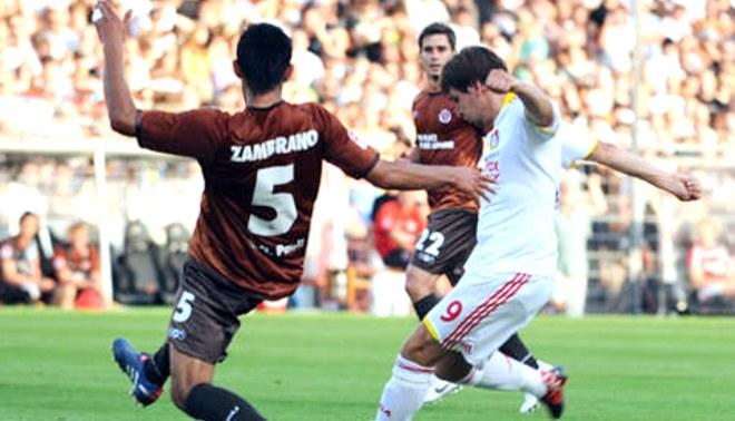 Carlos Zambrano debutó con empate: Su equipo el St. Pauli igualó 1-1 con el Leverkusen