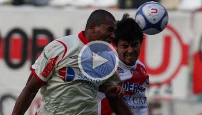 """La """"U"""" derrotó 3-1 a Gálvez en el Monumental"""